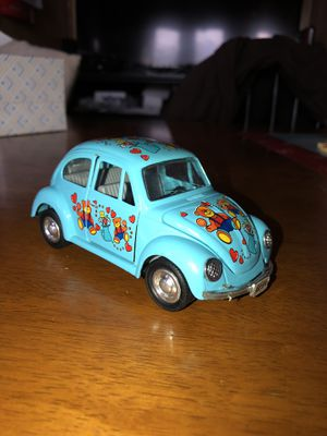 Vintage Volkswagen Beetle Car Model Toy Teddy Bear for Sale in Trenton, NJ