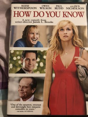 How do you know, DVD for Sale in Salt Lake City, UT