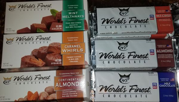 World's finest chocolates for Sale in US - OfferUp on books sale, white sale, green sale,