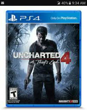 Uncharted 4 for Sale in Charlotte, NC