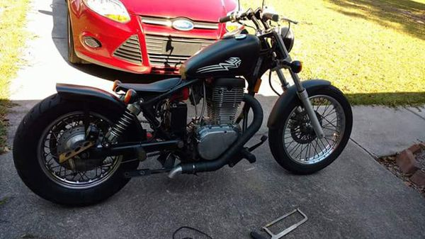 suzuki savage 650 bobber for sale in rincon ga offerup. Black Bedroom Furniture Sets. Home Design Ideas