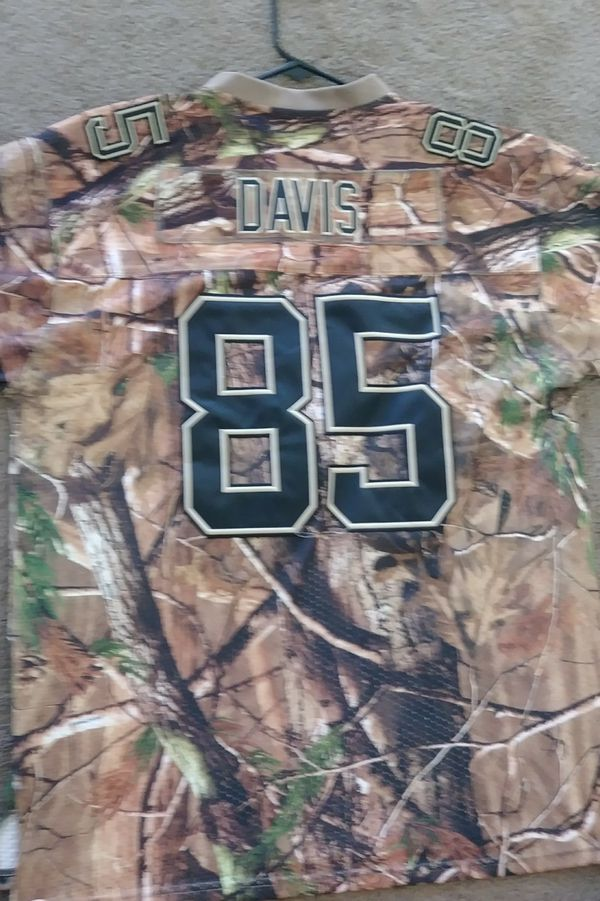 quality design 066e8 c8a28 49ers 2XL Jersey Camo Davis #85 for Sale in Palmdale, CA - OfferUp