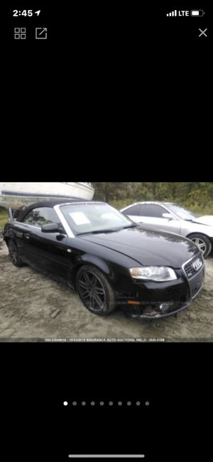 2009 Audi A4 S Line 4Cy Quattro Up For Parts for Sale in UPPR MARLBORO, MD