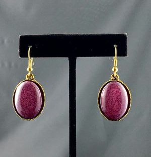Purple Howlite Earring for Sale in Austin, TX