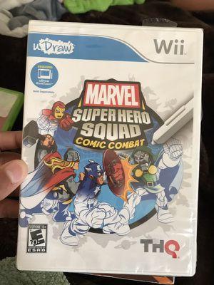 Marvel super hero squad comic combat wii for Sale in Boston, MA