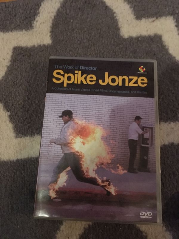 Spike Jonze DVD - music videos of Biggie, Pharcyde, Beastie Boys, Bjork and  more for Sale in Minneapolis, MN - OfferUp