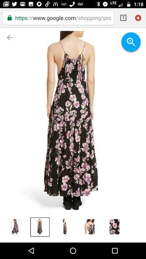 4002ac7e Free People Onyx Garden Party Maxi Dress Size M for Sale in Laguna Hills, CA
