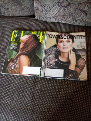 Elle & Town & Country Magazines Oct 2018..never read for Sale in Madison Heights, VA