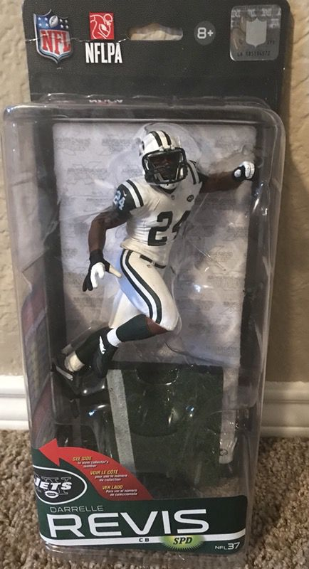 McFarlane NY Jets Darrelle Revis Chase/Variant Limited #602 Of 1000 for  Sale in Dallas, TX - OfferUp