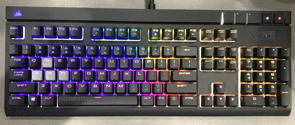 Corsair Strafe RGB MX Silent gaming keyboard for Sale in Akron, OH - OfferUp