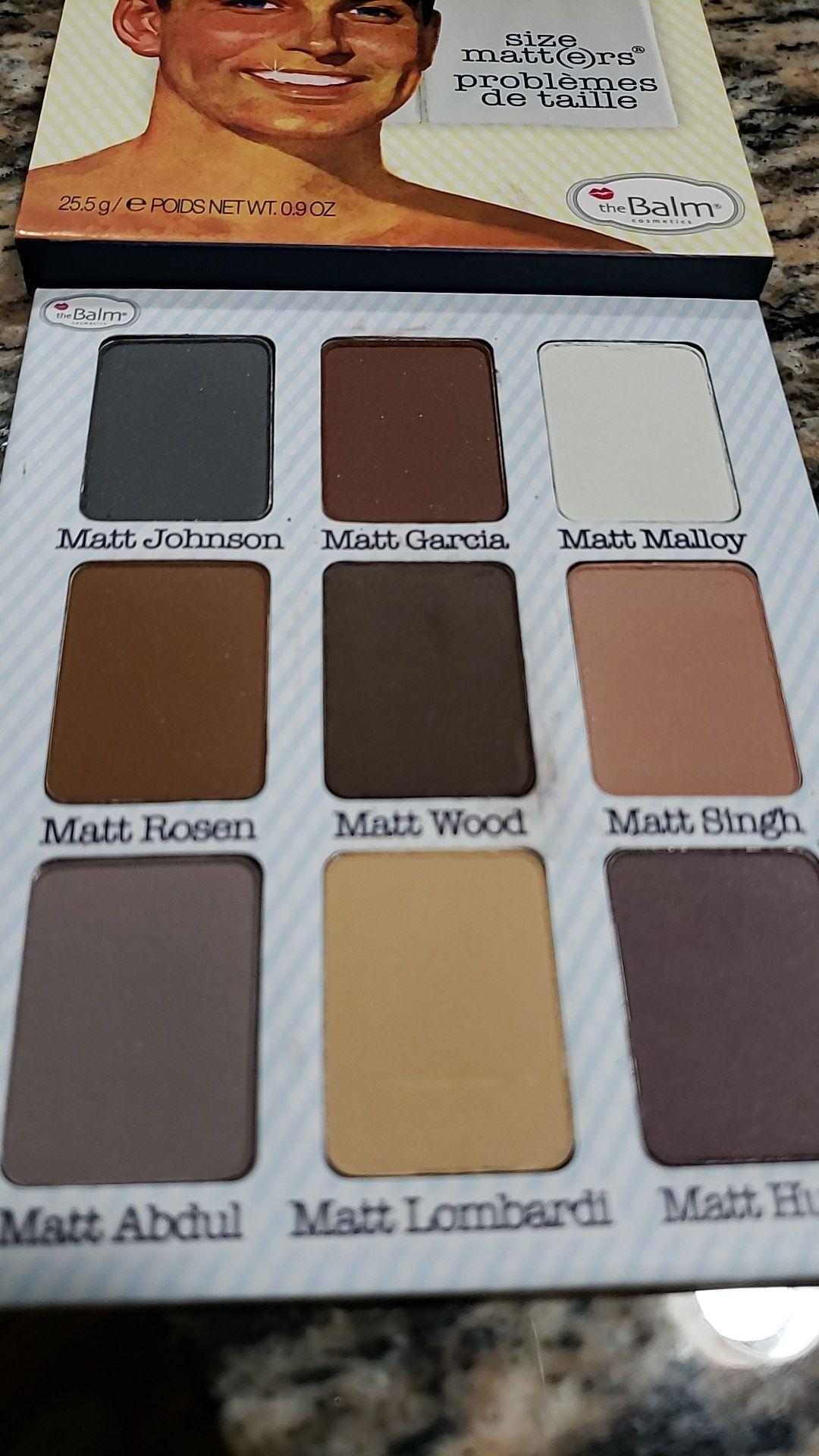 THE BALM meet Matt nude eyeshadow palette