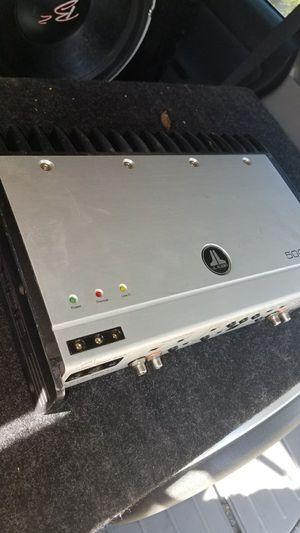 Photo JL audio amp 500/1 mono