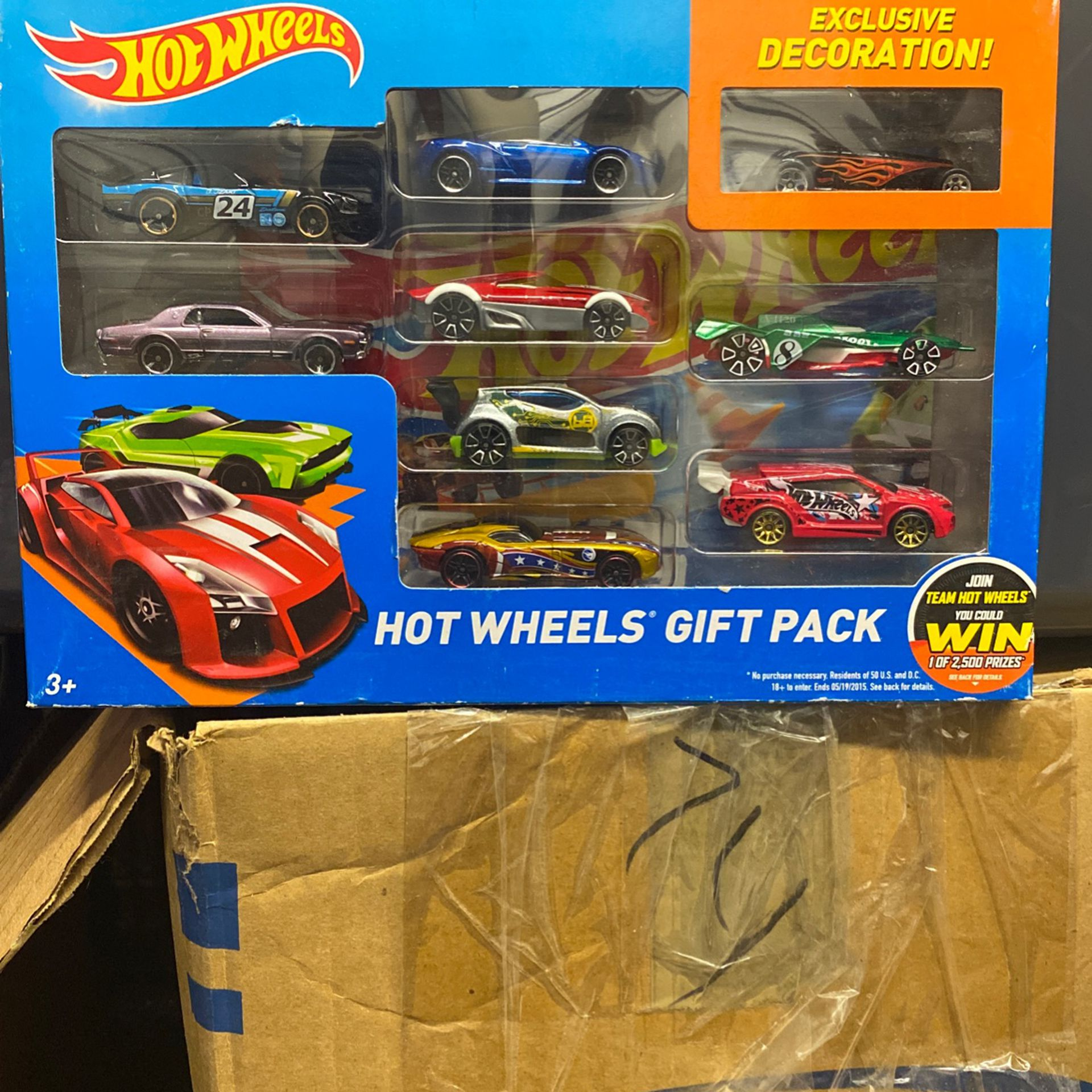 9-pack Hot Wheels With Trasure Hunt