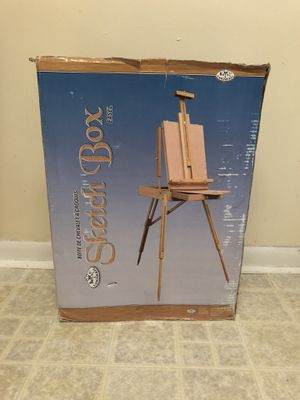 French Sketch Box Easel for Sale in Gaithersburg, MD