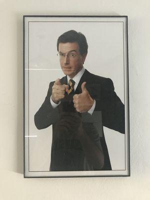 Stephen Colbert framed photo for Sale in Detroit, MI