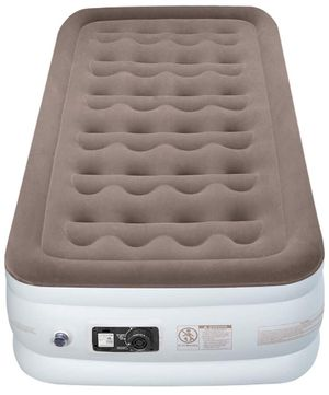 """Etekcity Twin/Queen Size Air Mattress Blow Up Bed Inflatable Mattress Raised Airbed with Electric Pump for Guest, Camping, Height 9""""/18"""" for Sale in Menifee, CA"""