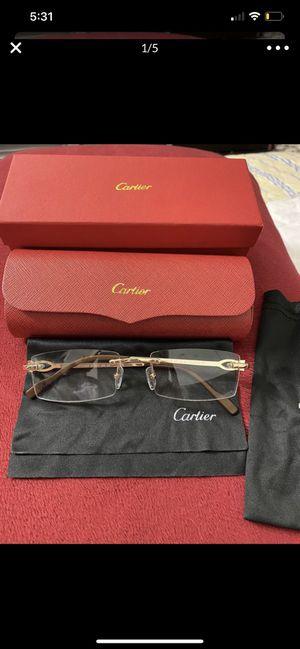 Photo Cartier glasses