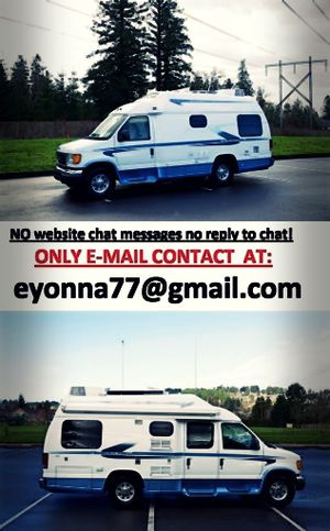 For sale Ford E350 Van motorhome full price listed RV! for Sale in Detroit, MI
