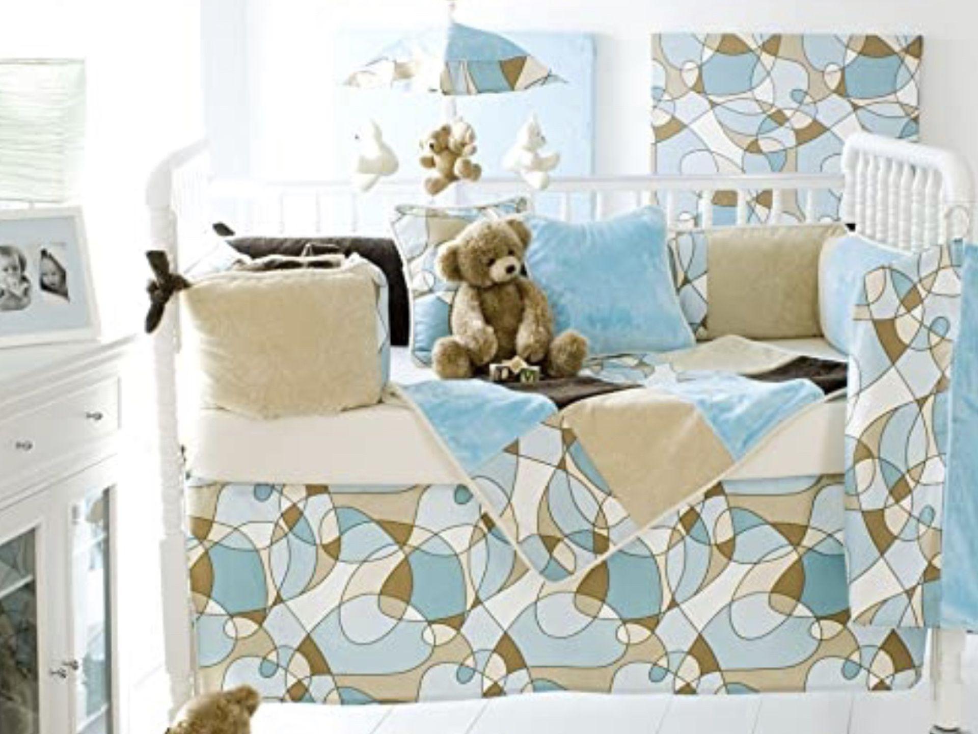 Glenna Jean Scribbles (Blue) Bedding