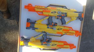 Lot of 3 Nerf Stampede fully auto guns for Sale in Knightdale, NC