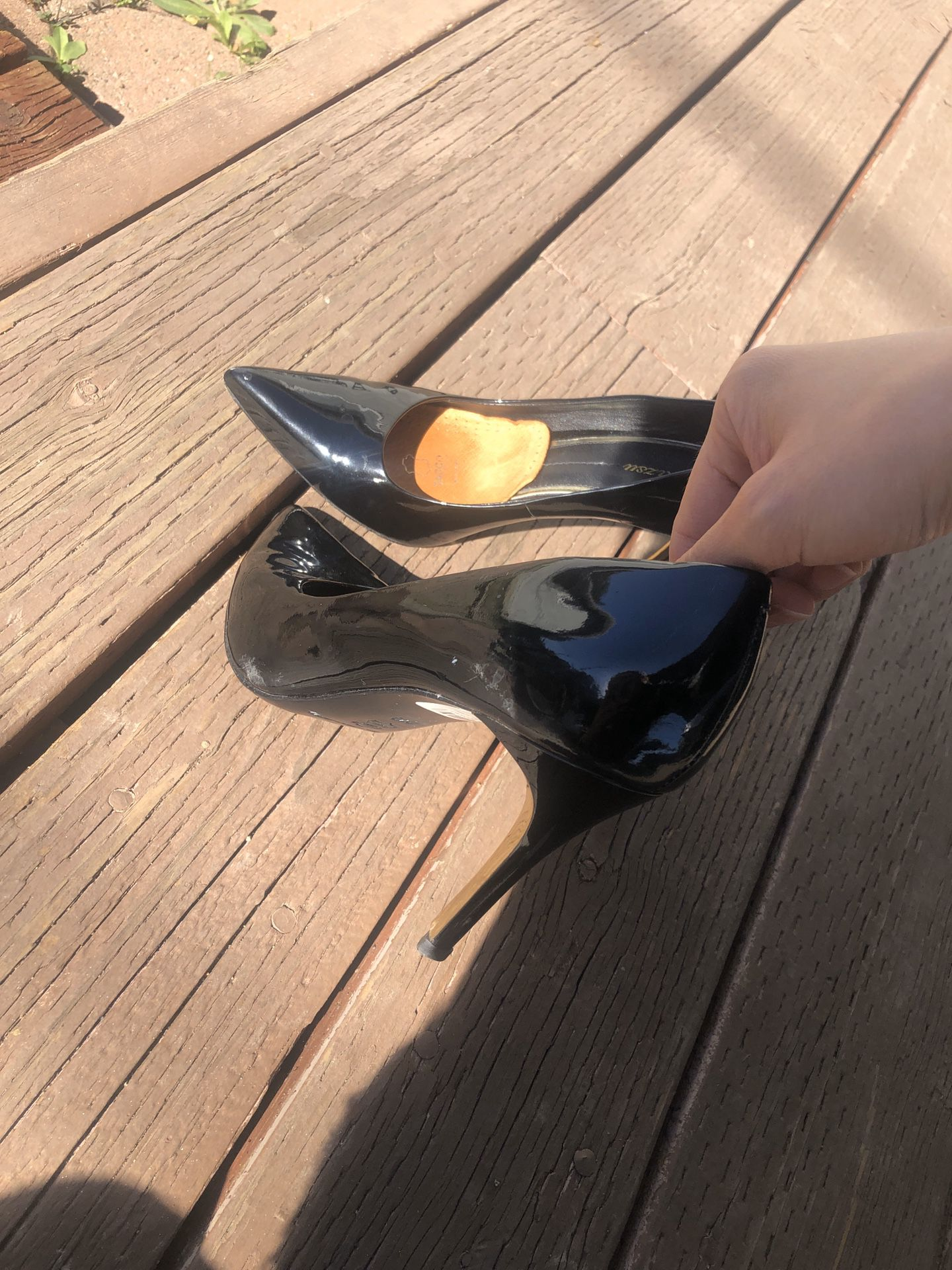 High heels for business