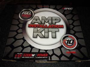 Photo New 0 Gauge V10 Full OFC Copper Amplifier Wiring Kit