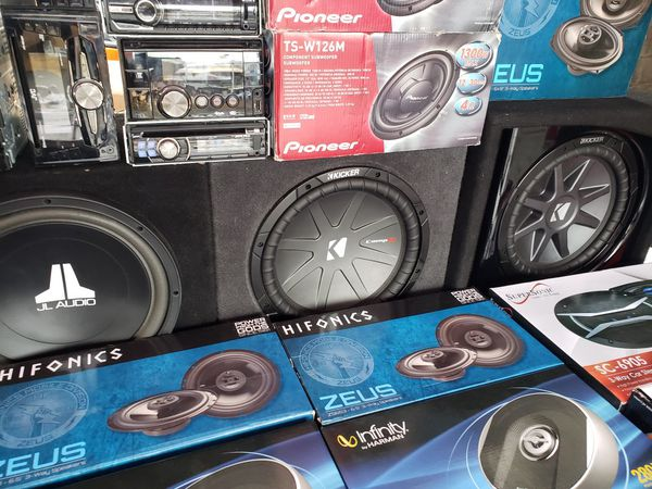 New and Used Audio speakers for Sale in Huntington Beach, CA