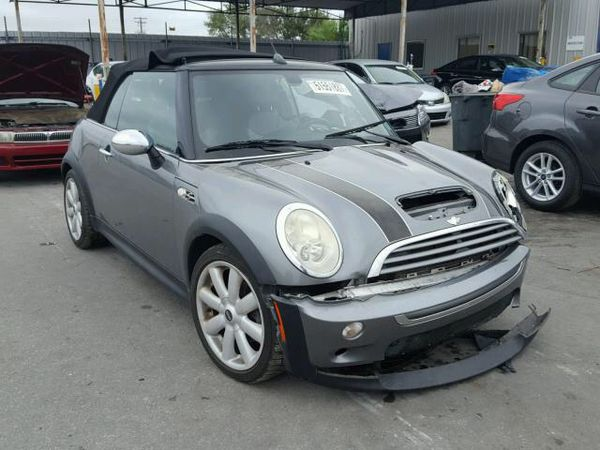2007 Mini Cooper S Convertible PARTING OUT ONLY For Sale In Apopka