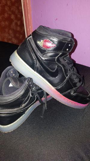 Nike air jordan 1 retro hi prem rainbow multi black 8 for Sale in San Jose 511d9b2cd