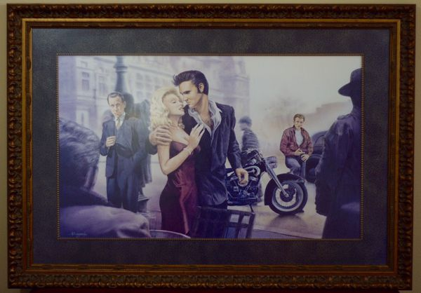 Marilyn Monroe Elvis Presley James Dean Humphrey Bogart Picture