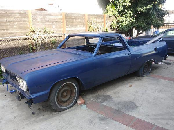 64 El Camino Chevelle For Sale In Long Beach  Ca