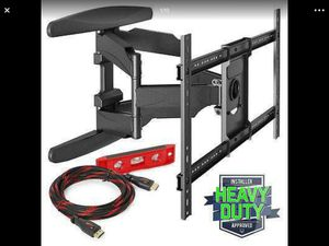 FULL MOTION TILTING TV WALL MOUNT - FITS 40 to 70 inch TV..... NEW IN BOX.... CHECK OUT MY PAGE FOR MORE ITEMS for Sale in Baltimore, MD