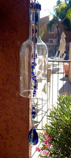 Wine bottle wine chime for Sale in Scottsdale, AZ