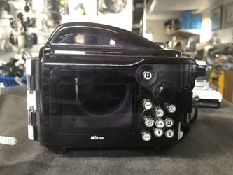 Nikon 1 J2 Digital Camera with a WP-N1 Waterproof Case Thumbnail