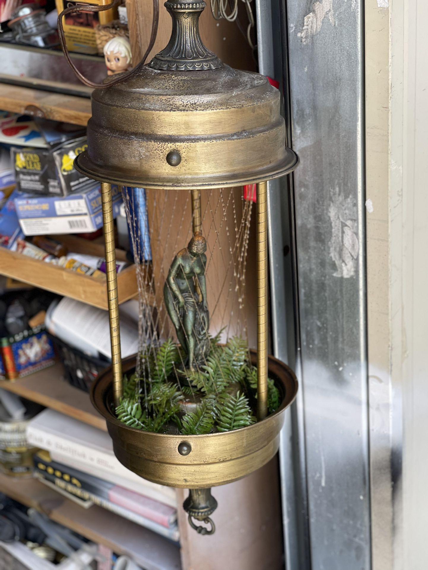 Mineral Oil Vintage Working Lamp