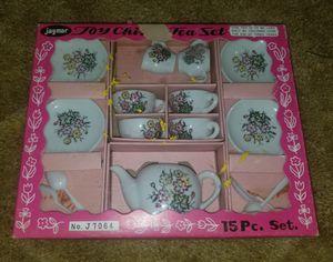 Photo Vintage 1960's Jaymar Child's China Tea Set J7064