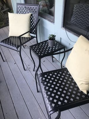 Patio Set - with pillows for Sale in North Potomac, MD