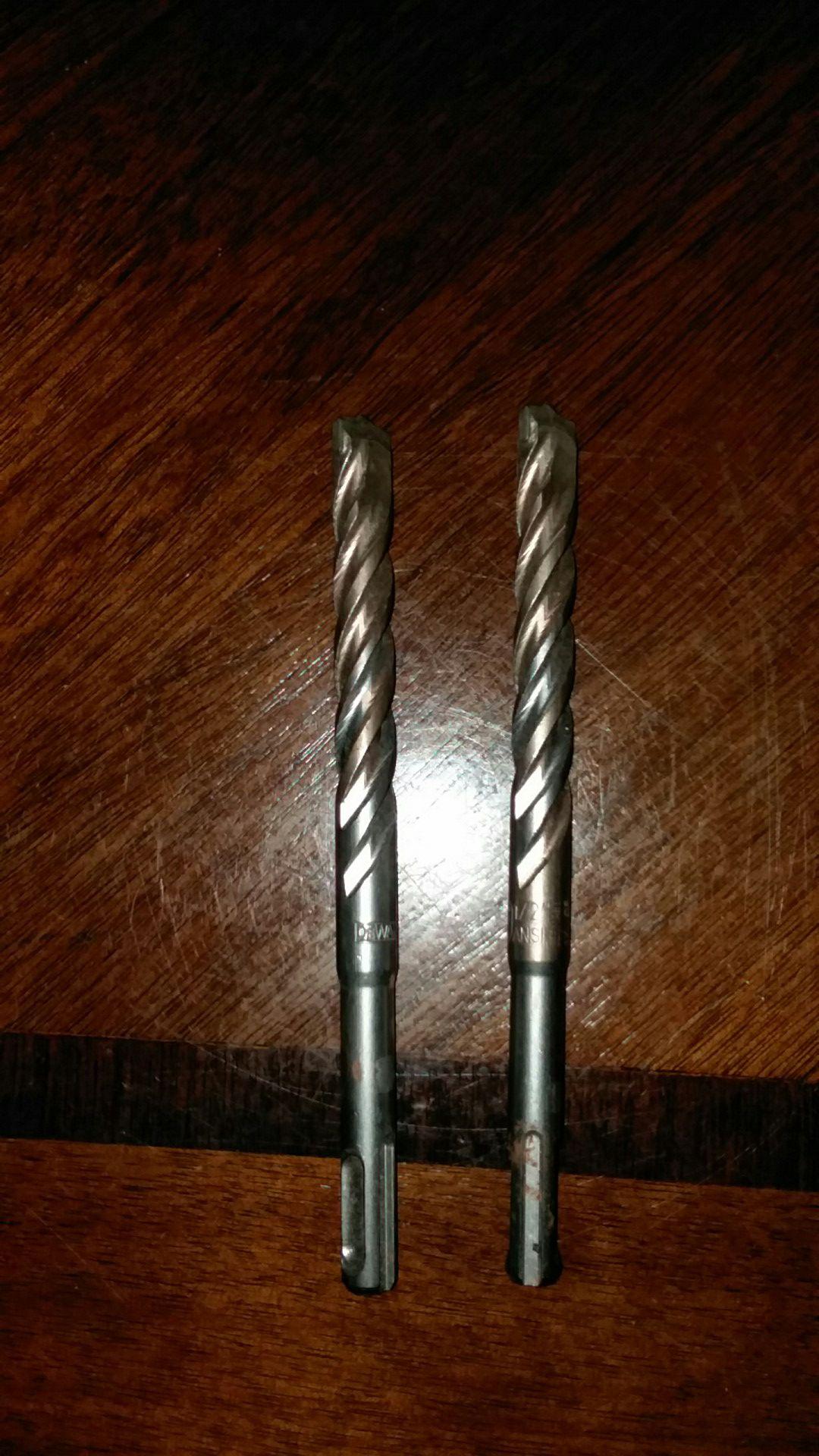 Dewalt 1/2 Masonry Roto hammer bit