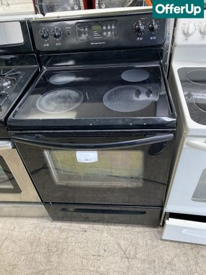 Photo 🚚💨Stainless Steel Frigidaire Electric Stove Oven Black #957🚚💨