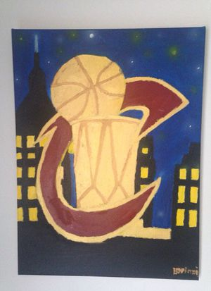 Cavs championship painting for Sale in Cleveland, OH