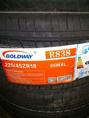 Photo Brand new set of 3 tires 18 inch never put on rim
