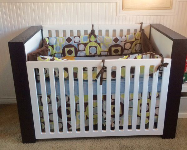 This Excellent Condition Nurseryworks Aerial Crib For