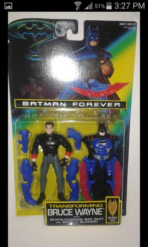 Batman Forever transforming Bruce Wayne Action Figure for Sale in Kissimmee, FL