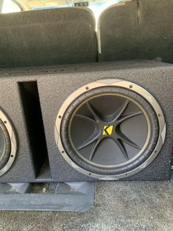 Speakers and box Thumbnail