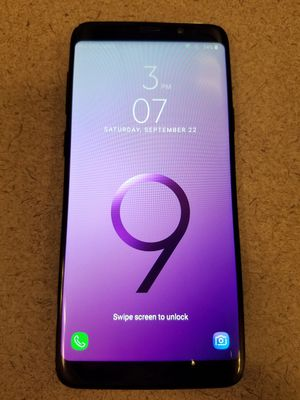 Samsung S9+ for Sale in MONTGOMRY VLG, MD
