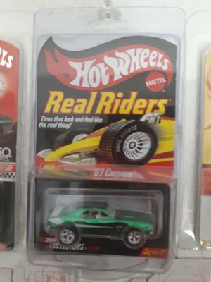 Photo Hot wheels real riders 67 camaro