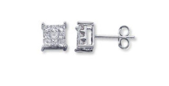 Kay Jewelers 1 3 Carat Diamond Earrings For In Fort Wayne Offerup