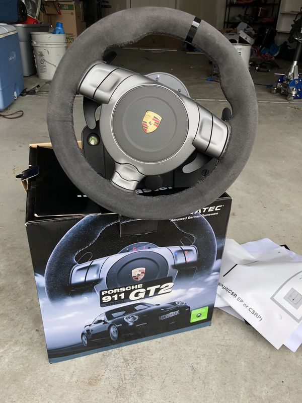 Fanatec Porsche 911 Gt2 Sim Wheel for Sale in Derby, KS - OfferUp