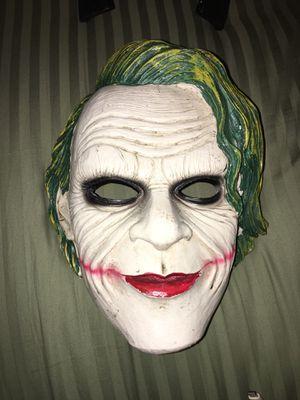 Joker / Batman collectors mask for Sale in Las Vegas, NV