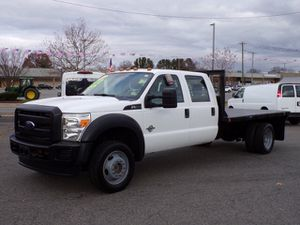 2013 Ford F550 4X4 diesel 11 ft flat bed for Sale in Manassas, VA